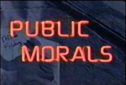 Public Morals Titlecard