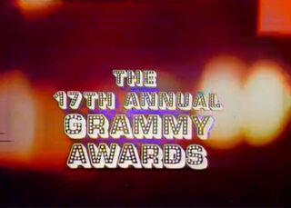 Grammys 17th