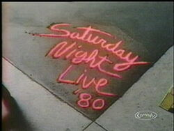 Saturday Night Live '80 Video Open From November 15, 1980