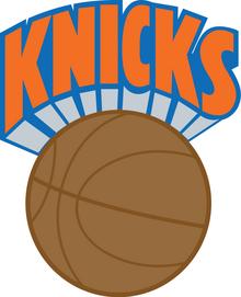 New York Knicks logo 1983 1990