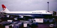 British Airways livery 1979