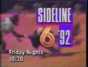 WBRC-TV Channel 6 Sideline '92 Promo