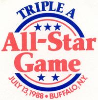 1988 Triple-A All-Star Game logo