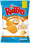 Walkers Ruffles Cheese & Onion