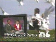 KBJR-TV's News 6's The 6 O'Clock News Video ID From August 1996