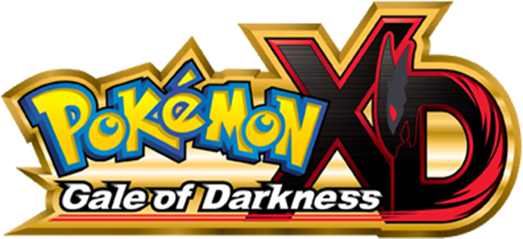 Pokémon XD Gale of Darkness logo