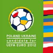 UEFA Euro 2012 logo (Poland and Ukraine bid)