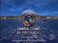 Porto dos Milagres seal long Globo 2000 logo 2001