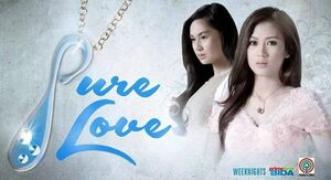 Pure love titlecard