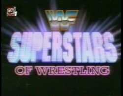 WWF Superstars of Wrestling Logo