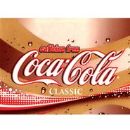 Decaffeinated Coca Cola Label