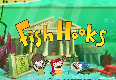 Fish hooks wallpaper (school ver.)