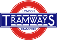 London Transport Tramways 1930s roundel small