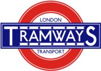 London Transport Tramways 1930s roundel small