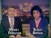 WBMG-TV Action News 42 Weekend Nightdesk teaser 1991
