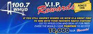 WHUD-FM's 100.7's V.I.P. Rewards Promo From September 2012