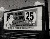 KTVQ 1953 Billboard