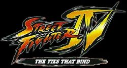 Street fighter iv the ties that bind logo