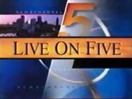 WEWS Logo 1998 e Live on Five