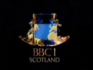 BBC One Scotland Christmas 1985 ident