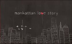 Manhattan Love Story Title Card