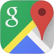 Image result for google maps app logo