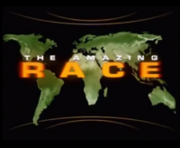 The Amazing Race Season 1 Title Card