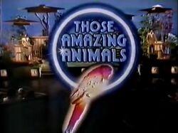 Those Amazing Animals Intertitle