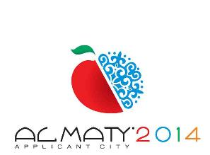 Almaty 2014 Olympic applicant city bid logo