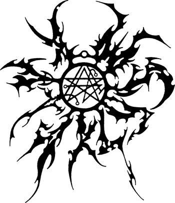 Kataklysm old occult logo
