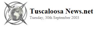 Tuscaloosa News.Net 2003