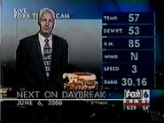 WBRC's FOX 6 News Daybreak video opening from June 6th, 2000