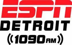 ESPN Detroit 1090 AM logo