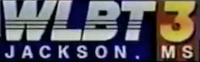 WLBT 3 Jackson MS logo 1996