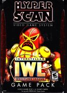 Hyper Scan IWL Interstellar Wrestling League Game Pack Front Cover