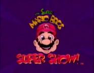 Super Mario Bros Super Show Title