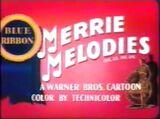 Merrie Melodies Blue Ribbon 1954