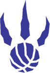 Toronto Raptors logo (alternate, 1995-2006)