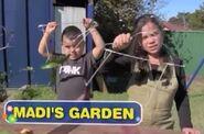 Nickelodeon Nick Jr. Gardening for Kids with Madi Logo Madi's Garden