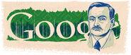 Google Yanka Kupala's 130th Birthday