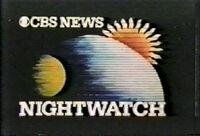 CBS Nightwatch 1982