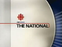 CBC-TV's CBC News' The National Video Open From Late 2001