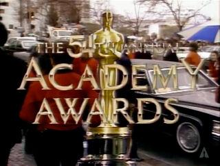 Oscars 54th tv