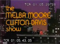 The Melba Moore Clifton Davis Show