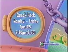 Toon Disney Promo advertising Quack Pack