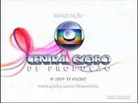 Viver a Vida seal short Globo 2008 logo 2009