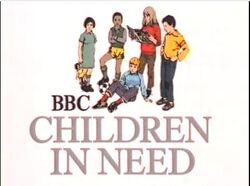 Children in need 1980 logo