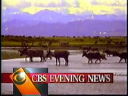 CBS Evening News Bumper 23-07-1993
