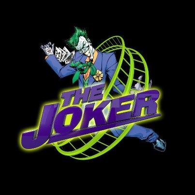 The Joker (roller coaster) logo