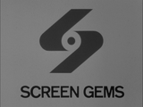 Screen Gems 1965 B&W